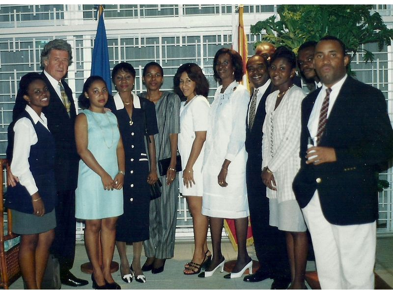 Les Etudiants Du CEDI Recus En La Residence De L Ambassadeur Du Canada En Haiti S E M Gilles Bernier (17)