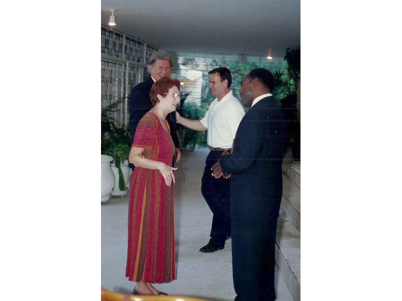 Les Etudiants Du CEDI Recus En La Residence De L Ambassadeur Du Canada En Haiti S E M Gilles Bernier (25)