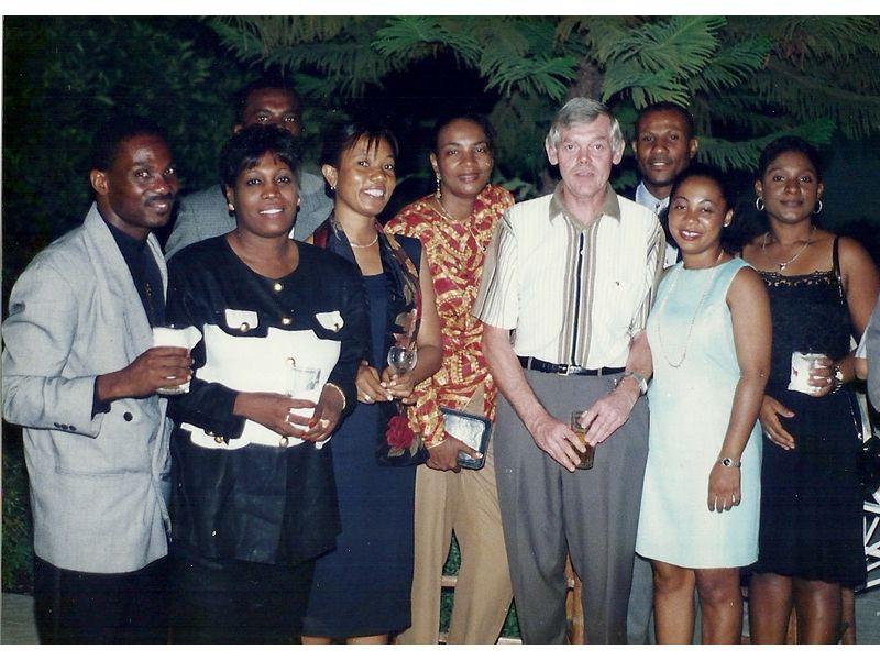 Les Etudiants Du CEDI Recus En La Residence De L Ambassadeur Du Canada En Haiti S E M Gilles Bernier (29)