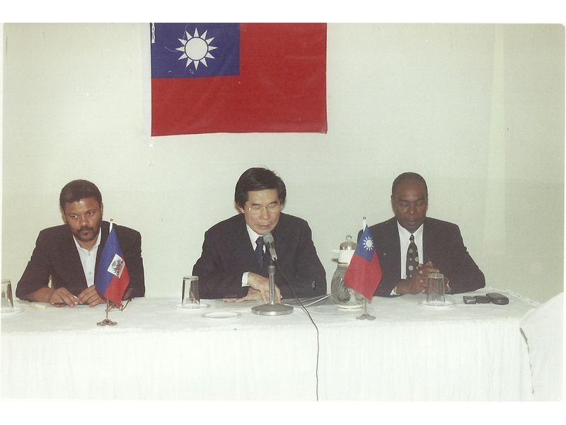 Conférence prononcée au CEDI par l'Ambassadeur de Taïwan en Haïti SEM Hsieh Hsing Ping