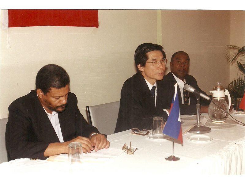 Conference Prononcee Au Cedi Par L Ambassadeur De Taiwan En Hati Sem Hsieh Hsing Ping 3