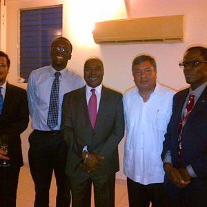 Visite De Lambassadeur Du Mexique En Haiti Au Cedi Le 20 Mai 2013 2