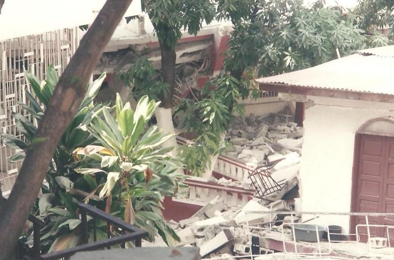Les dégâts causés par le séisme du 12 janvier 2010 au CEDI