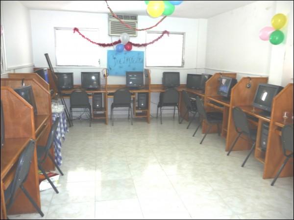 Vue Partielle De La Salle Informatique Du CEDI Renforcée Par Des équipements Informatiques Offerts Par Le Diplomate Taïwanais Accrédité à Port-au-Prince